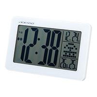 時計 記念品名入れ ADESSO 大画面電波クロック