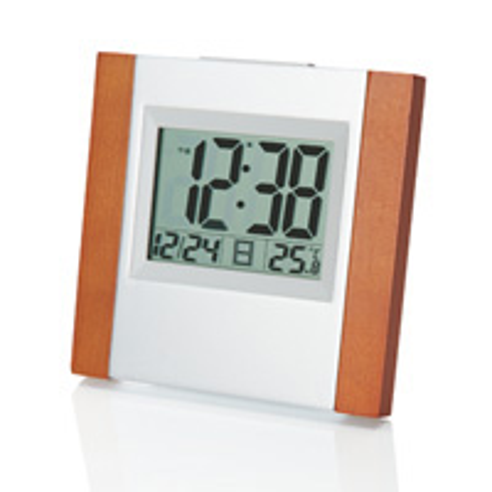 記念品 オリジナル 名入れ アデッソ(ADESSO) ウッド電波時計