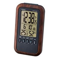 記念品 オリジナル 名入れ 電波時計 メテオーラ