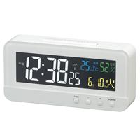 時計 記念品名入れ 電波時計 カラーハープ