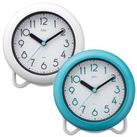 記念品 オリジナル 名入れ 防滴時計 バブルコート
